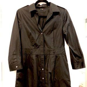 Theory Dresses - Black theory bottom down shirt dress
